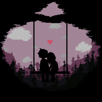 Valentine's Day - Pixel Art (With animation) by yxkiix
