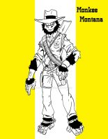 Monkee Montana by wonderfully-twisted