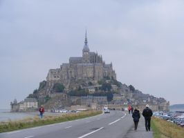 Mont Saint Michel 01 by Axy-stock