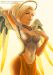 Mercy (Overwatch) - SFW by CAROTdrawsthings