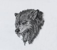 wolf head by dielectric-m