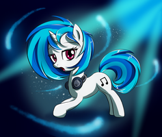 Vinyl Scratch by fajeh