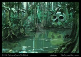 Swamp forest by Navarrot