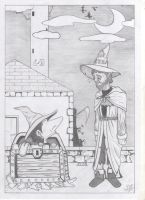 Me and Rincewind by alanpedro