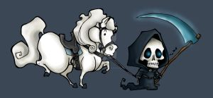 Death and Binky by BasokoArima