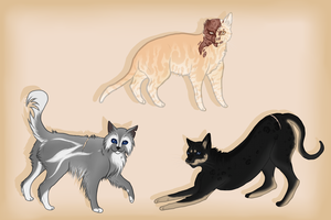 Some Cat Art by GuardianOfJay