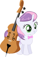 Sweetie Belle's Octavia Costume by Seven-Fates