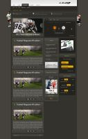 Balticgoal.net Mainpage by treconor
