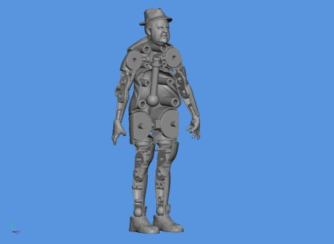 Zombie Tourist articulation by 9pins
