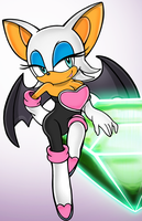 Collab: Rouge the Bat ~BrendaBsi by supasaiyajingokou