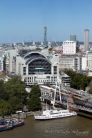 London Charing Cross Station by Takeshi-Toga