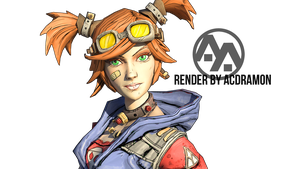 Gaige CloseUp Render by acdramon