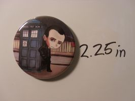 9th Doctor magnet by FanaticalFactory