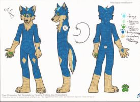 Liam Reference sheet by L-A-B-R-A-D-O-R