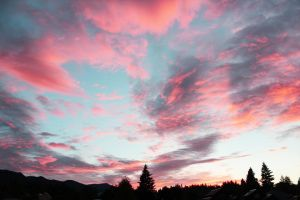 Rosy Sky by HeartSquared