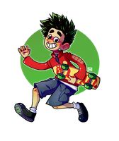 Jake Long | with Speedpaint by Kariotic