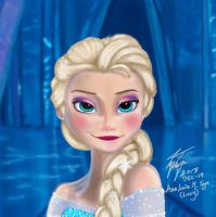 Elsa  by BlackAngelLucia