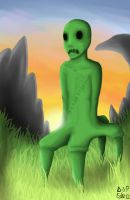 Minecraft Creeper by RoseFelicis