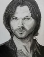 Pencil Sam Winchester/Jared Padalecki II by LoveYouLikeSin