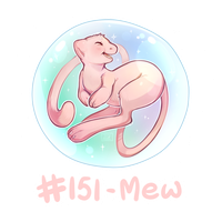 151 - Mew by Electrical-Socket