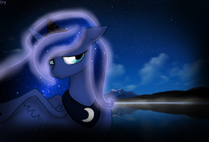 Night Luna by BlackBassCry