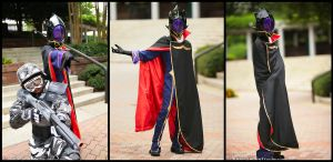 Code Geass: Zero cosplay by Kiarou