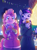 +MLP - Street Snacks+ by Kelsea-Chan