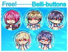 Free! button set by jinyjin