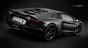 Lamborghini LP700-4 Aventador rear 2 by RaynePhotography