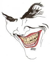 Joker's Face by predator-fan