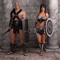 Fantasy Warriors:Gladiators by scifigiant
