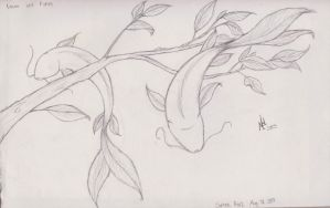 Leaves and Fishes by nel-izabeth