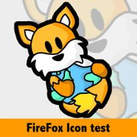 FireFox Icon Test by JinxBunny