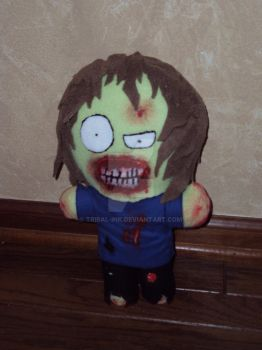 OMG Zombie Plush by Tribal-Ink