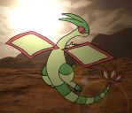 Flygon Deserted by PirateMushroom