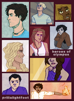 fresh heroes of olympus by PrillaLightfoot