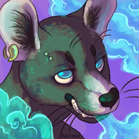 i smoked 30 weeds [icon commission] by VCR-WOLFE