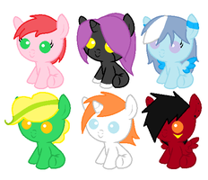 Foal Adopts CLOSED by perfectnesspony