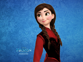 Frozen Anna Edit by Vegetto90
