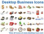 Desktop Business Icons by ahasofticons