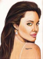 Angelina Jolie 2 by MusicSurvivor