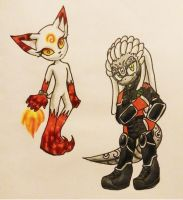 CM: Infurnis and Onyx by Dream-Beam