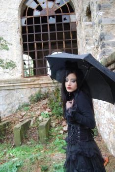 Gothic Girl4 by ftourini-stock
