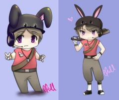 Team Fortress 2 - Scout by efull