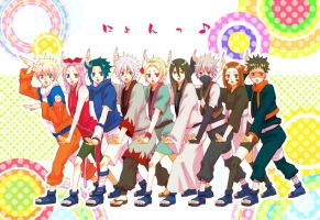 Naruto colorful sim date by lollolvip