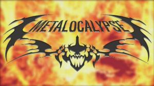Metalocalypse Flames Wallpaper by LingLing927