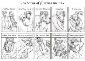 PN - 10 Ways Of Flirting Meme by Fortranica