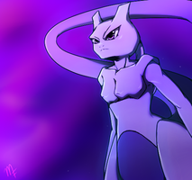 .:No. 150 - Mewtwo:. by Myuutsufan