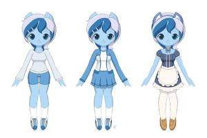 Minuette Clothing Designs by Jdan-S