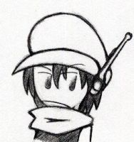 Main char of Cave Story by darku